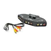 3 Way Audio/Video Selector