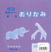 Origami Paper Single Colour 15cm (5.9 In) No.14 Lilac Purple