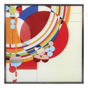 Frank Lloyd Wright March Balloons Stained Glass 25cm x 25cm