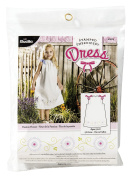BUCILLA 47675 Stamped Embroidery Dress Kit, Passion Flower, Size 50cm by 80cm