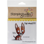Stamping Bella Nacho Cling Rubber Stamp, 17cm x 11cm
