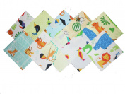 40 13cm Animals at the Zoo Charm Pack