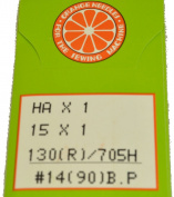 Orange Sewing Machine Needle Size 14, HOBP-90