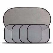 Malloom 5 Pcs/Set Car Window Suction Cup Sun Protection Visor Shade Mesh Sunshade Covers