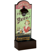 Lily's Home Vintage Humorous Beer Bottle Opener With Cap Catcher, Father's Day Gift