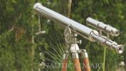 Nauticalmart Floor Standing Chrome Finish Griffith Astro Telescope 170cm