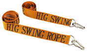 HIG Tree Swing straps - Safety swing handing rope, Adjustable and easy installation, Swing tie rope with Heavy-duty Hooks (150cm long and 5.1cm wide, Set of 2 Straps)