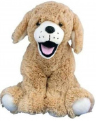 Make your own stuffed animal Brown Labrador Dog No Sewing 40cm 16""