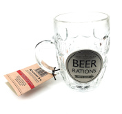 Dad's Army Rations Beer Glasses Tankard Gift Idea