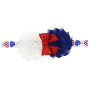 Baby Cute Baby Kids Girls Flower Hairband Elastic Headband