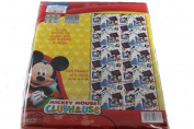 Disney Mickey Mouse White with Tent Blue Print Bed House Size 140 x 290 cm