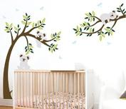 LUCKKYY KOALA Branch and Tree wallstickers for Nursery Bedroom Wall Decor