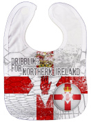 Dirty Fingers, Euro Football Dribbling for Northern Ireland, Feeding Bib