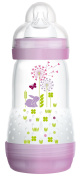 MAM 321522 - Anti Colic 260ml, Suction Size 1, for girls, colours assorted - BPA free, 1 Piece