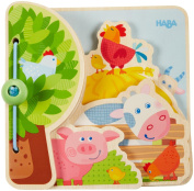 Haba Farm Friends Baby Book