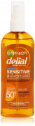 DELIAL Sensitive Body Oil Protector with SPF 50 Plus 150 ml