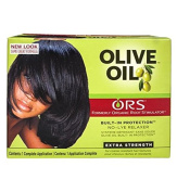 ORS Organic Roots Stimulator Olive Oil Hair Relaxer No Lye -EXTRA STRENGTH