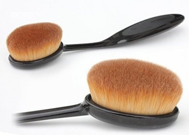 Classic Makeup Brush- Beauty Oval Toothbrush-Shaped Foundation Brush Blend