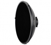 Beauty Dish with Honeycomb Filter and Diffuser for Light Shapers Silver Bowensb Ajonett 42 cm