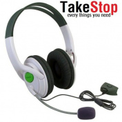 takestop Headset for Xbox 360 Adjustable Volume On Cable 2.5 mm Jack Plug