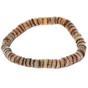 Unpolished cognac Amber discs Bracelet 1801, Comes with lovely gift box.