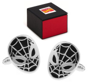 Marvel Spiderman 3 Black And Silver Tone Cufflinks Free Marvel Gift Box Spider Man Cuff Links