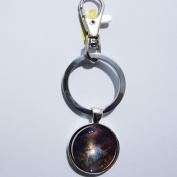 Nebula Galaxy Space Keychain, Mimi Keychain, Key Everyday Gift Key Chain, Unique Key Ring Customised Gift