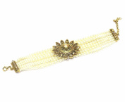 Jewellery Antique Gold Plated Chain Bracelet For Women