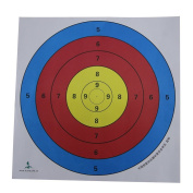 Huntingdoor Archery Target Faces for Practise 40cm 60cm Come with Target Pins