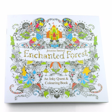 Enchanted Forest Colouring Book Fishpondconz Books 9999484622114