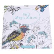 Bird Magic Mirror Based on Alice in Wonderland Colourig Book