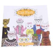 Cat Park Colouring Book