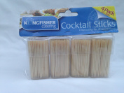 2400 x wooden cocktail sticks 80 mm for all occasions