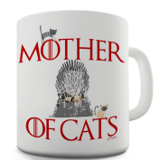 Twisted Envy Mother Of Cats Ceramic Mug