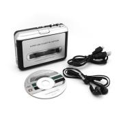 Incutex Cassette Tape to MP3 Converter (via PC) - Portable USB Tape Player