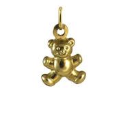 9ct Gold Teddy Charm