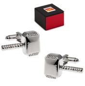 Marvel Thor Hammer Mjolnir Cufflinks Silver-Tone Free Marvel Gift Box Cuff Links
