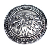 Game of Thrones Stark Brooch House Of Stark Song Of Ice And Fire Pin The Shield