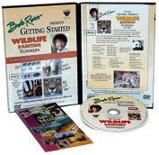 Weber Various Bob Ross Wildlife Painting Techniques Dvd