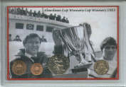 Aberdeen FC (The Dons) Vintage European Cup Winners Cup Final Winners Retro Coin Present Display Gift Set 1983