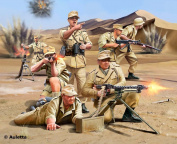 Revell German Africa Corps WWII Plastic Model Kit
