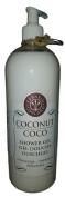 Erbario Toscano Coconut Moisturising Shower Gel Large 1010ml Size