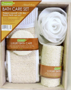 Luxury Bath Set Wooden Crate Exfoliating Body Care Pamper Yourself With This Luxury Bath Set