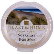 Heart & Home Wax Tart Melt Home Fragrance - Sea Grass