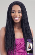 HOT SINGLE TWIST (TT530) - Freetress equal lace front hand braided wig