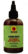 Tropic Isle Living Jamaican Strong Roots Red Pimento Hair Growth Oil, 120ml