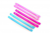 A Pack Of 6 Bright Coloured Hair Slides Hair Grips Kirby Hair Grips Hair Pins