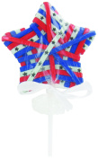 USA Hair Ties - 4th of July Independence Day - Red White Blue Ribbon