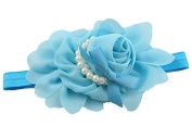 Yonger Babys Girls Flower Bowknot Photography Hairband Infant CuteHeadband