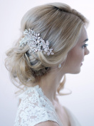 USABride. Crystal Rhinestone Bridal Clip Wedding Comb Hair Accessory TC-2265